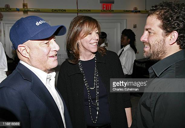 MacAndrews & Forbes Holdings Inc. Chairman and CEO Ronald O. Perelman, Tribeca Film Festival Co-Founder Jane Rosenthal and Director Brett Ratner...