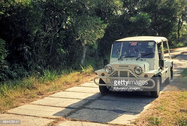Macao Driving A Moke Vehicle