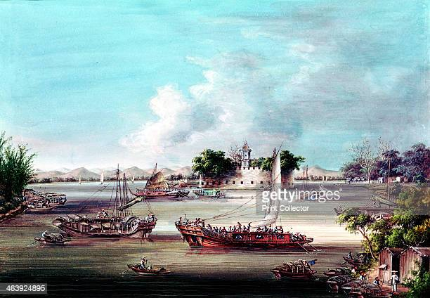 Macao Fort Canton River China Macao was one of the Treaty Ports that were among concessions China made to European nations after the end of the First...