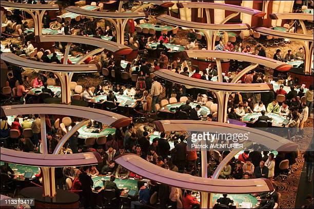 Macao The Chinese Gambling Empire On January 2006 In Macao Here The Sands Macao'S Biggest Casino Was Opened May 18 By Us Multimillionaire Sheldon...