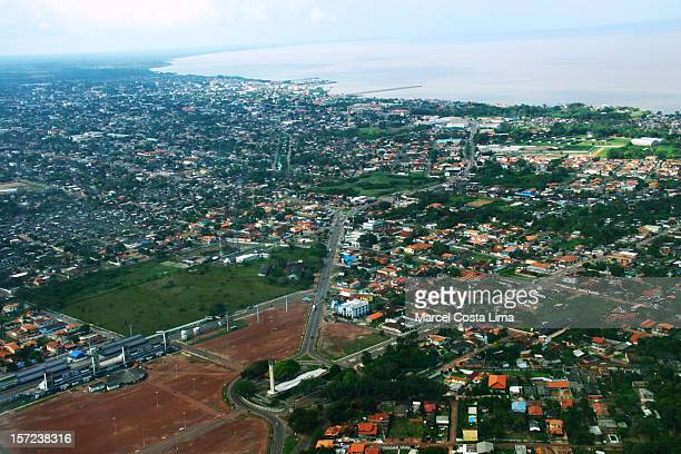 macapa and ground zero. - amapá state stock pictures, royalty-free photos & images
