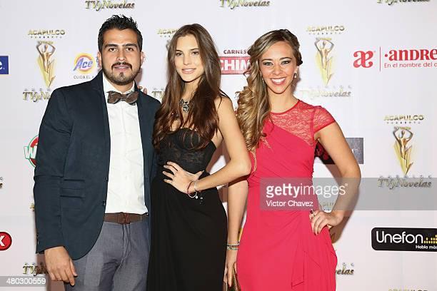 Macarena Achaga and guests attend the Premios Tv y Novelas 2014 at Televisa Santa Fe on March 23 2014 in Mexico City Mexico