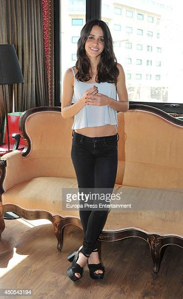 Macarena Garcia attends a photocall for 'La Llamada' play on June 10 2014 in Barcelona Spain