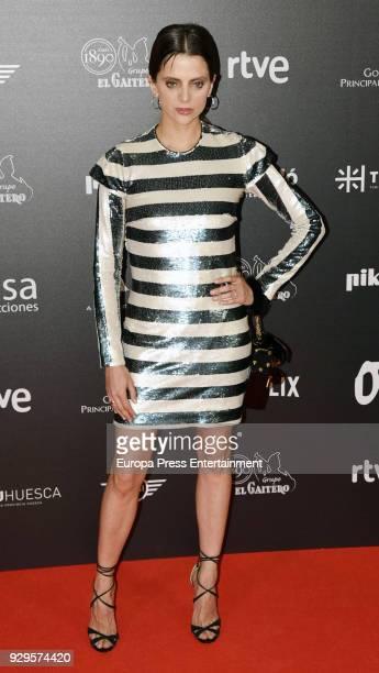 Macarena Garcia attends 'Bajo la Piel del Lobo' premiere at Callao cinema on March 8 2018 in Madrid Spain