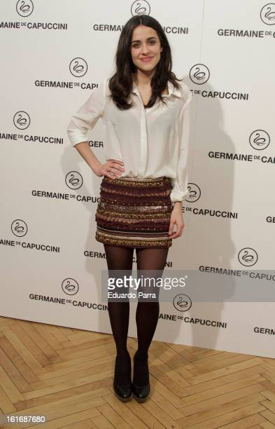 Macarena Garcia attends Carmen awards by Germaine de Capuccini photocall at Cinema Academy on February 14 2013 in Madrid Spain