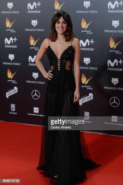 Macarena Garcia attends Feroz Awards 2018 at Magarinos Complex on January 22 2018 in Madrid Spain