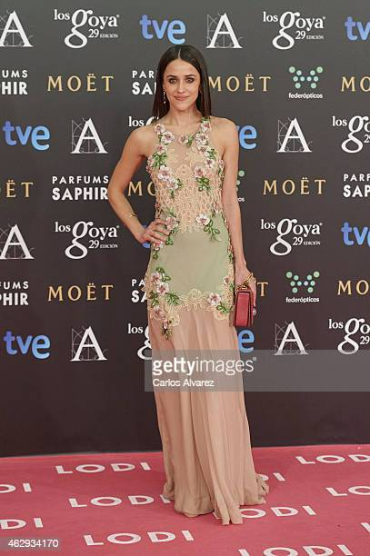 Macarena Garcia attends Goya Cinema Awards 2014 at Centro de Congresos Principe Felipe on February 7 2015 in Madrid Spain