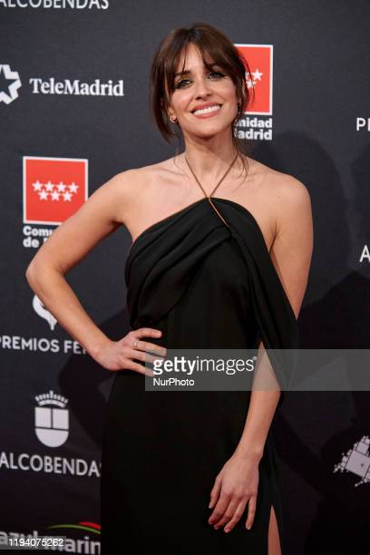Macarena Garcia attends the 'FEROZ' awards 2020 Red Carpet photocall at Teatro Auditorio Ciudad de Alcobendas in Madrid Spain on Jan 16 2020