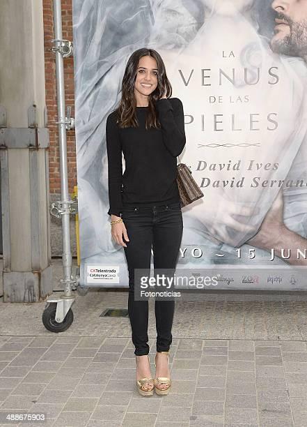Macarena Garcia attends the 'La Venus de las Pieles' premiere photocall at Matadero de Madrid theatre on May 7 2014 in Madrid Spain