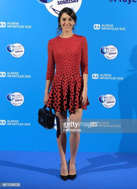 Macarena Garcia attends the 'Proyecto Sonrisas' new edition presentation at the Principe Pio Theatre on March 23 2017 in Madrid Spain