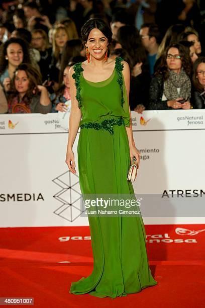 Macarena Garcia attends 'Todos Estan Muertos' premiere during the 17th Malaga Film Festival 2014 at Teatro Cervantes on March 27, 2014 in Malaga,...