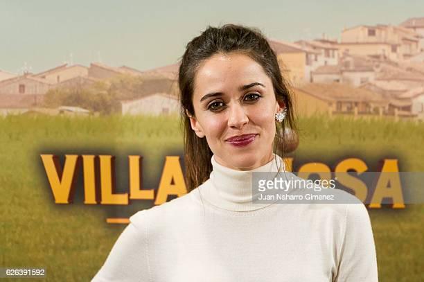 Macarena Garcia attends 'Villaviciosa de al Lado' photocall at Palacio de los Duques Hotel on November 29 2016 in Madrid Spain