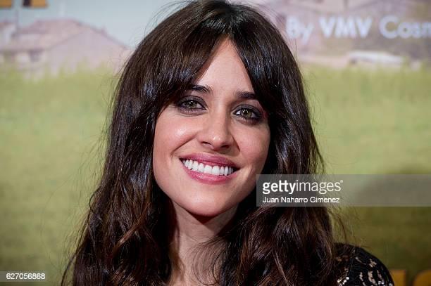 Macarena Garcia attends 'Villaviciosa De Al Lado' premiere at Capitol Cinema on December 1 2016 in Madrid Spain