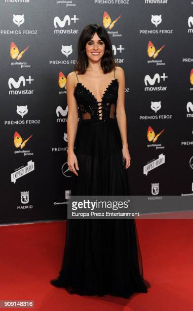 Macarena Garcia cattends Feroz Awards 2018 at Magarinos Complex on January 22 2018 in Madrid Spain