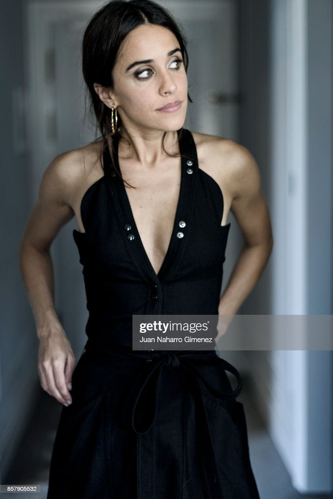 Macarena Garcia is seen posing during a portrait session at Maria Cristina Hotel on September 28, 2017 in San Sebastian, Spain.