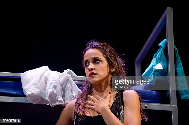 Macarena Garci����a the girl who won the Goya for 'Best Actress' for her performance of 'Snow White' now felt 'the call' of God in the musical play...