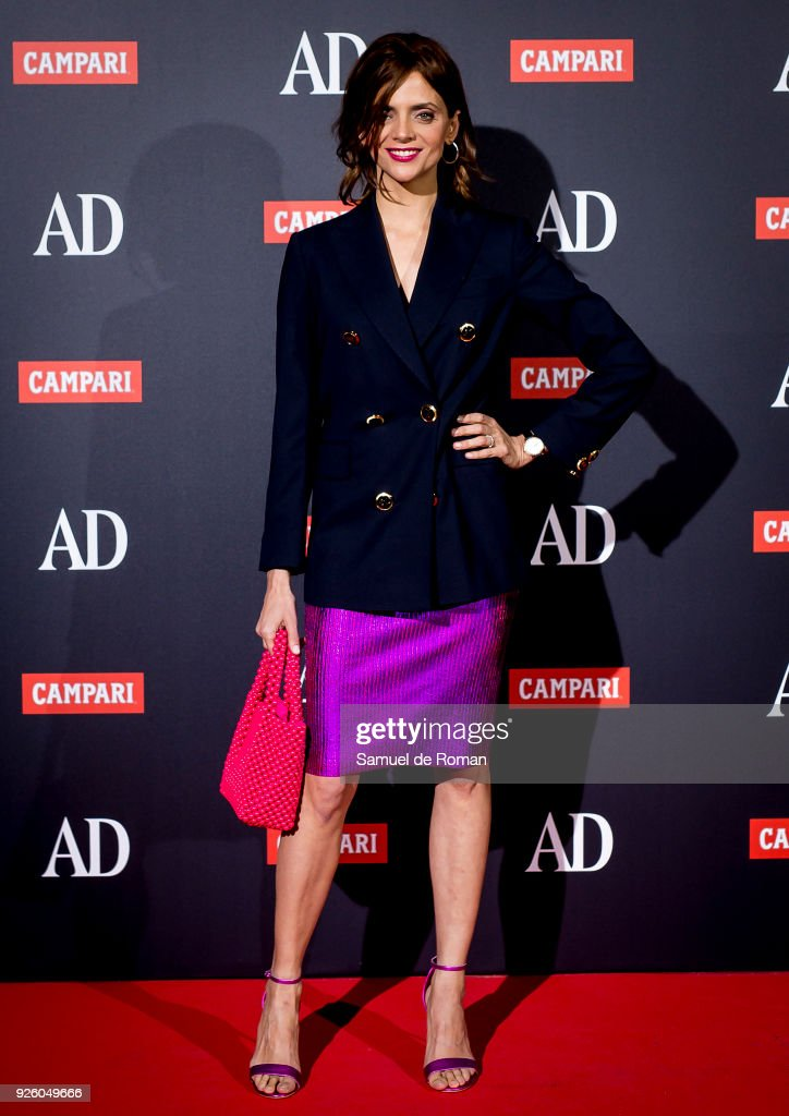 Macarena Gomez and Alaska attend the 'AD Awards' 2018 photocall on March 1, 2018 in Madrid, Spain.