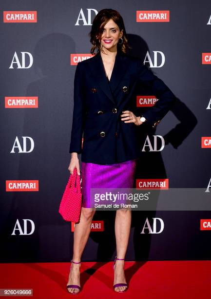 Macarena Gomez and Alaska attend the 'AD Awards' 2018 photocall on March 1 2018 in Madrid Spain