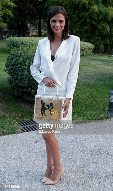Macarena Gomez attends MFShow catwalks at Costume Museum on September 8 2014 in Madrid Spain
