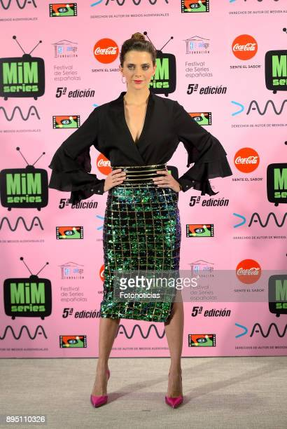 Macarena Gomez attends the 2017 MIM Series Awards at the ME Hotel on December 18 2017 in Madrid Spain
