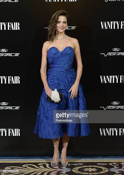 Macarena Gomez attends the 'Vanity Fair Personality Of The Year' Gala at The Ritz Hotel on November 16 2015 in Madrid Spain