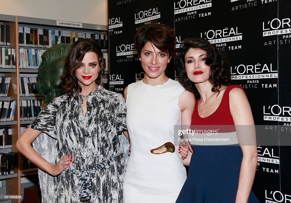 L'Oreal Professionnel Presents Hairstyles For 2015 Goya Awards