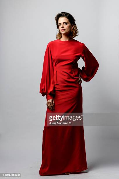 Macarena Gomez poses for a portrait session at Teatro Cervantes during 22nd Spanish Film Festival of Malaga on March 23 , 2019 in Malaga, Spain.