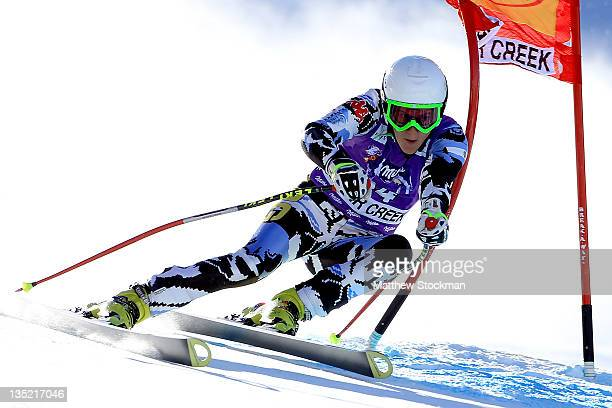 Macarena Simari Birkner of Argentina competes in the women's SuperG on the Birds of Prey at the Audi FIS World Cup on December 7 2011 in Beaver Creek...