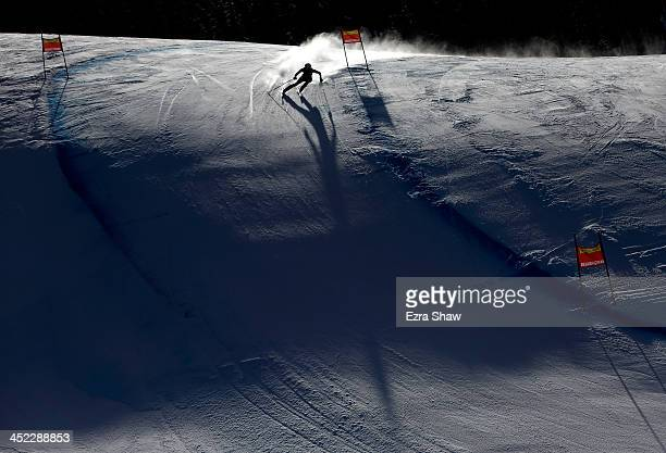 Macarena Simari Birkner of Argentina in action during day 2 of training on Raptor for the FIS Beaver Creek Ladies Downhill World Cup on November 27...