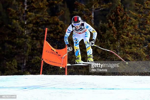 Macarena Simari Birkner of Argentina practices during Ladies' Alpine Combined training on Day 6 of the 2015 FIS Alpine World Ski Championships on...