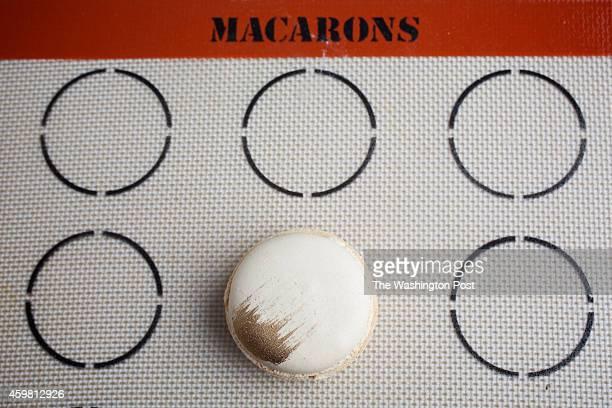 Macaron Silpat template