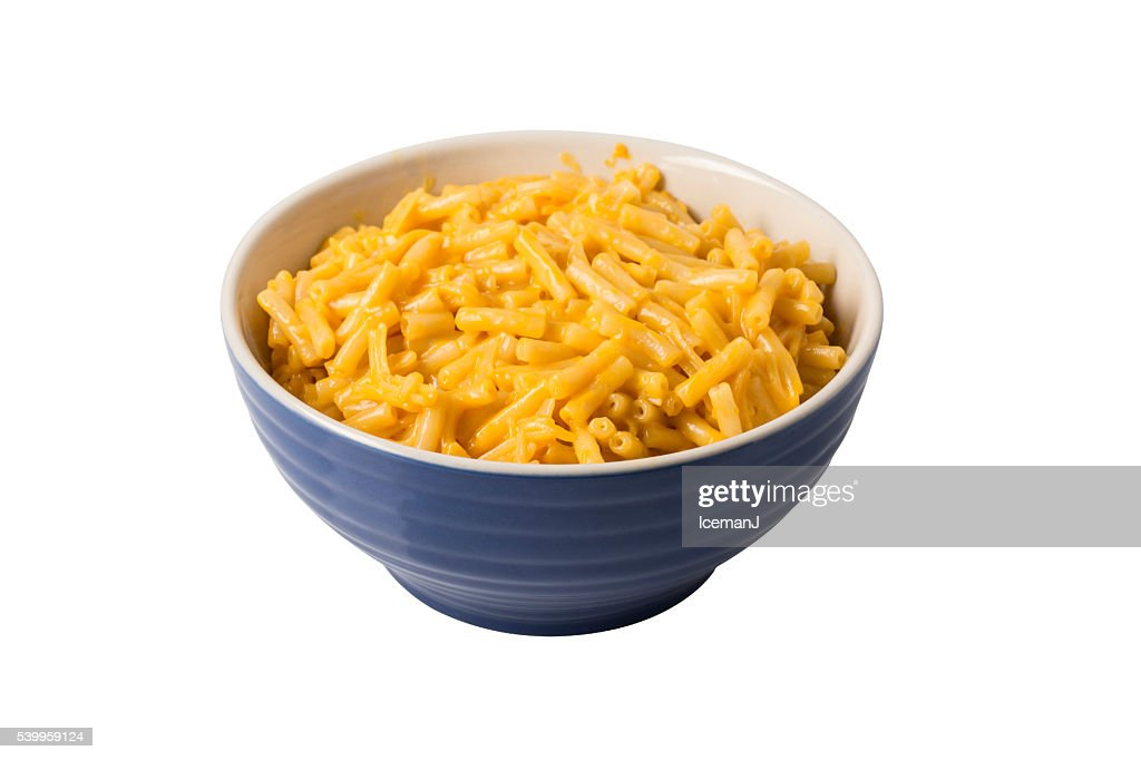 Macaroni and Cheese in Bowl : Stock Photo
