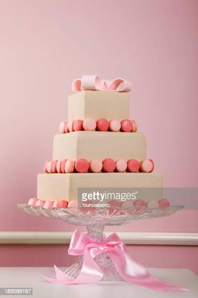 マカロンのケーキ