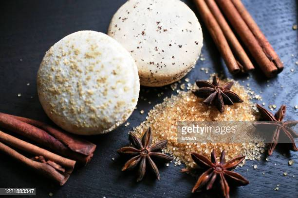 macaroons - lutavia stock pictures, royalty-free photos & images