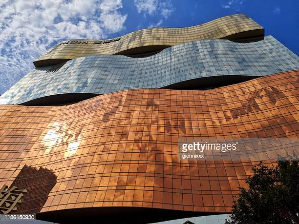 mgm macau hotel and casino - macao stock pictures, royalty-free photos & images