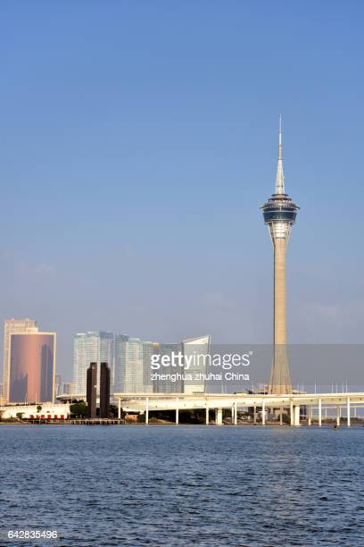 macau tower - ウィン・ラスベガス ストックフォトと画像