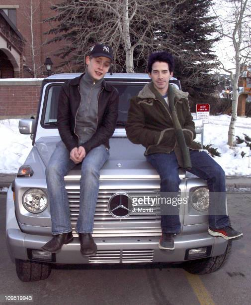 Macaulay Culkin and Seth Green with the 2003 MercedesBenz G500