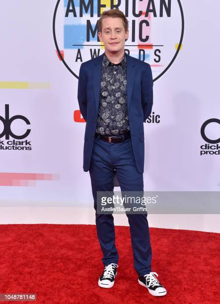 Macaulay Culkin attends the 2018 American Music Awards at Microsoft Theater on October 9, 2018 in Los Angeles, California.