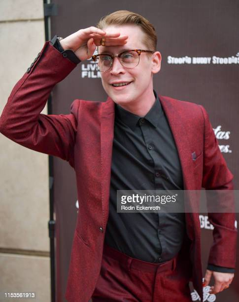 Macaulay Culkin attends the LA Premiere of Gravitas Ventures' Changeland at ArcLight Hollywood on June 03 2019 in Hollywood California
