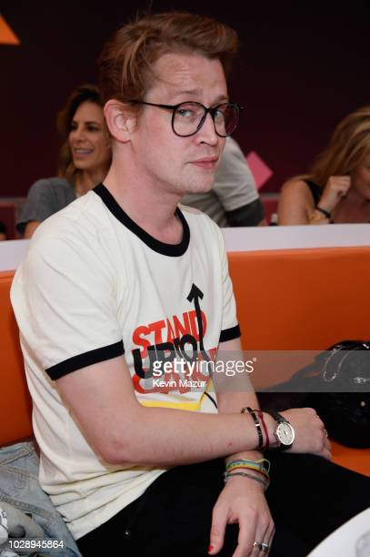 Macaulay Culkin attends the sixth biennial Stand Up To Cancer telecast at the Barkar Hangar on Friday, September 7, 2018 in Santa Monica, California.