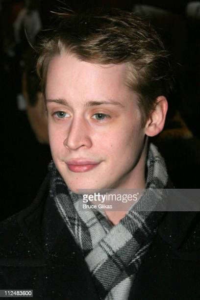 Macaulay Culkin during 'After Ashley' OffBroadway Premiere After Party at Link in New York City New York United States