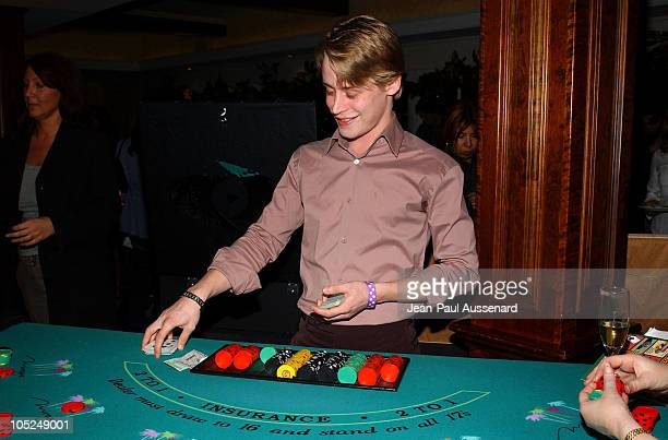 Macaulay Culkin during 'Luck of The Paw' Casino Night and Silent Auction to Benefit Animal Avengers at The Victorian in Santa Monica California...