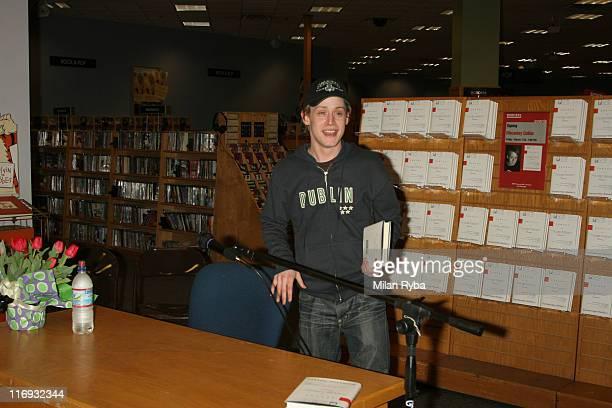 Macaulay Culkin during Macaulay Culkin Signs His Book 'Junior' at Borders Books Del Amo Mall in Torrance California United States