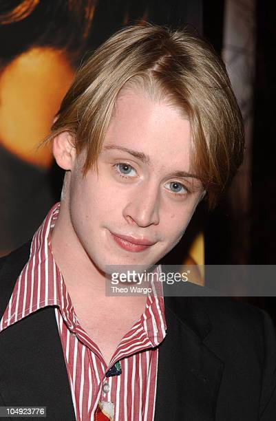 Macaulay Culkin during Producer Lee Daniels hosts a special screening of Monsters Ball at the Tribeca Grand Hotel's Grand Screen at Tribeca Grand...