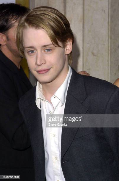 Macaulay Culkin during 'Saved' Los Angeles Premiere Arrivals at The National in Westwood California United States