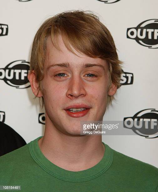 Macaulay Culkin during The Opening Night Gala of OUTFEST featuring 'Party Monster' in Los Angeles California United States
