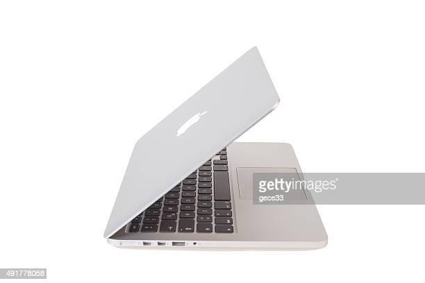 macbook pro - sluiten stockfoto's en -beelden