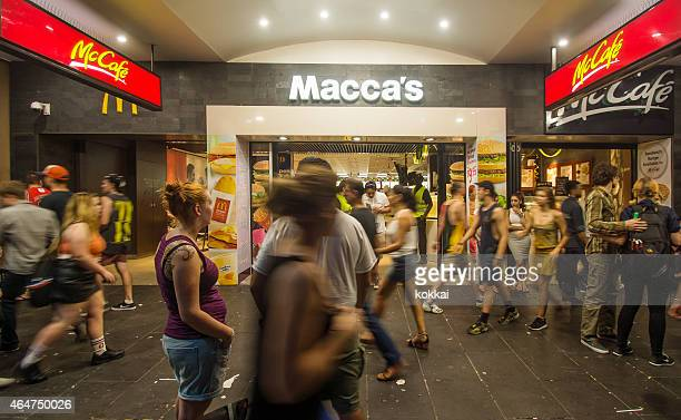macca's - mcdonald's stock pictures, royalty-free photos & images
