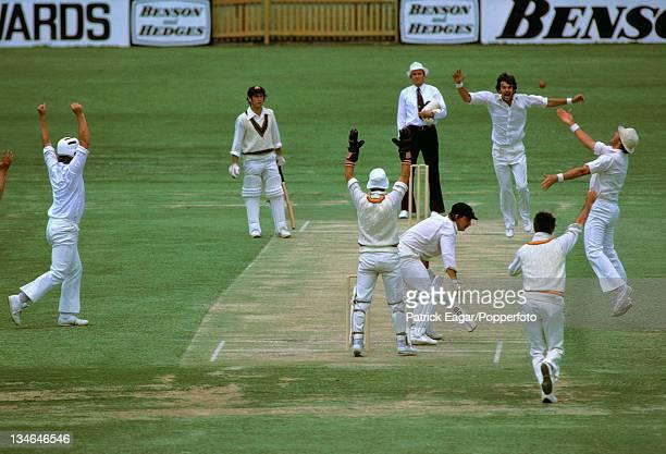MacClean caught Gooch bowled Miller, Australia v England, 2nd Test, Perth, Dec 1978-79.