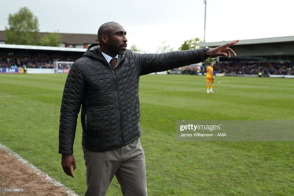 Macclesfield Town v Cambridge United - Sky Bet League Two : News Photo